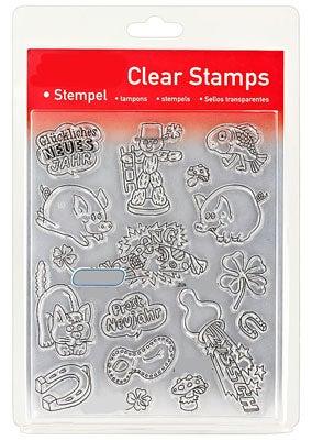 46836 - Clear Stamp Set - Zum Neuen Jahr -