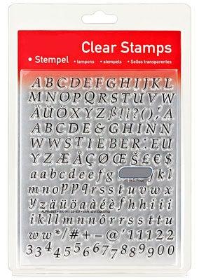 46837 - Clear Stamp Set - Alphabet Klassisch -