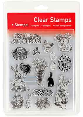 46801 - Clear Stamp Set - Frohe Ostern -