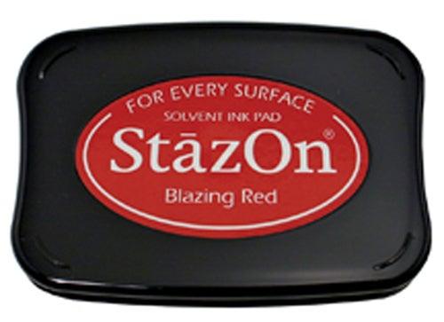 98221 - StazOn - Blazing Red - Stempelkissen -