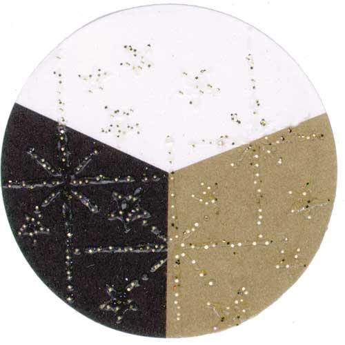 65012 - Embossing-Pulver - 10 Gramm - Transparent / Gold Glimmer -