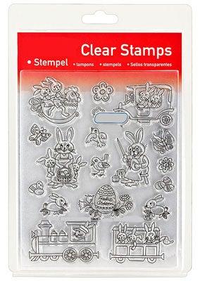 46825 - Clear Stamp Set - Ostern Naiv II -