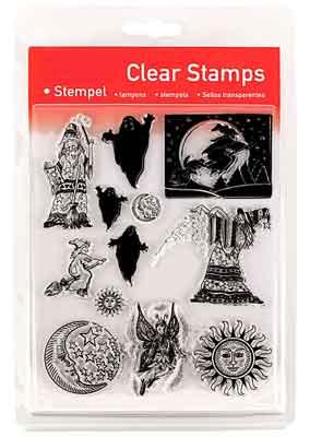 46812 - Clear Stamp Set - Fantasia-