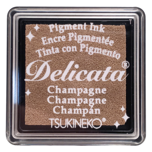 85096 - Delicata - Mini - Champagne - Stempelkissen -
