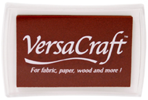 96054 - VersaCraft - Chocolate -  Stoff-Stempelkissen -