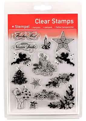 46803 - Clear Stamp Set - Weihnachten 2 -