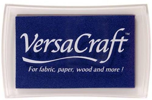 96018 - VersaCraft - Ultramarine - Stoff-Stempelkissen -