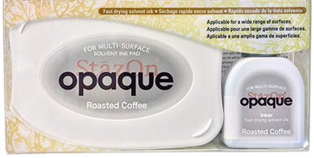 98454 - StazOn Opaque - Rosted Coffee - Stempelkissen Set -