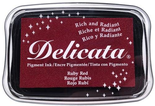 85325 - Delicata - Ruby Red - Stempelkissen -