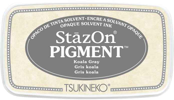 98132 - StazOn Pigment - Koala Gray - Stempelkissen -