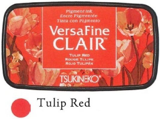 91550 - VersaFine CLAIR - VF-702 - Tulip Red - Stempelkissen -