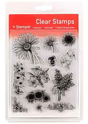 46804 - Clear Stamp Set - Blumen -