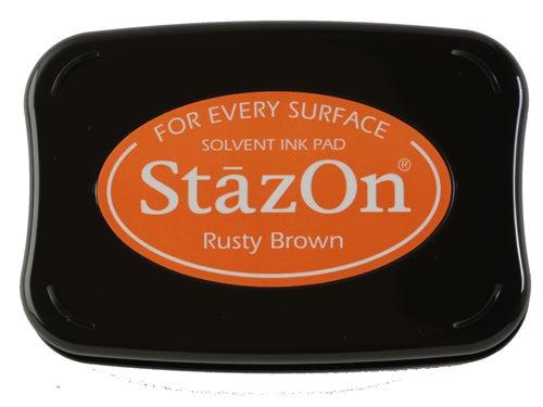 98242 - StazOn - Rusty Brown - Stempelkissen -