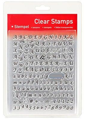 46838 - Clear Stamp Set - Alphabet Zierschrift -