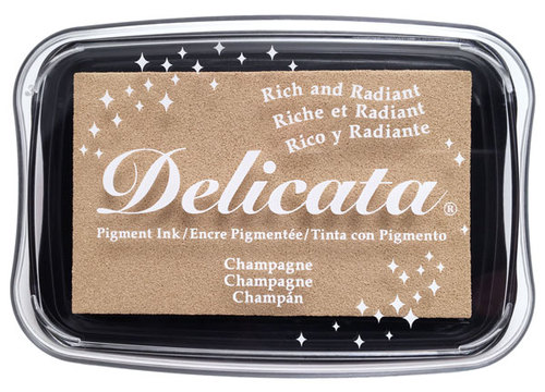 85396 - Delicata - Champagne - Stempelkissen -
