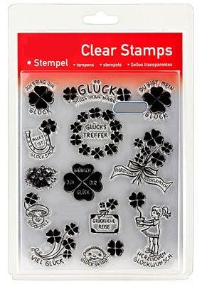 46847 - Clear Stamp Set - Viel Glück -