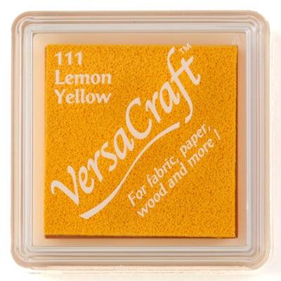 96811 - VersaCraft Mini - Lemmon Yellow - Stoff-Stempelkissen -