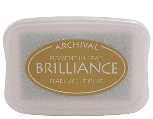 94253 - Brilliance - Pearlecent Olive - Stempelkissen -