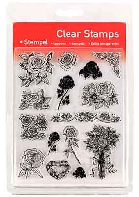 46820 - Clear Stamp Set - Rosen -