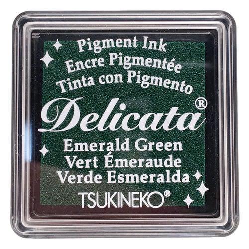 85021 - Delicata - Mini - Emerald Green - Stempelkissen -