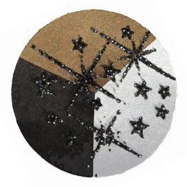 65416 - Embossing-Pulver - 10 Gramm - Schwarz + Silber Glimmer -