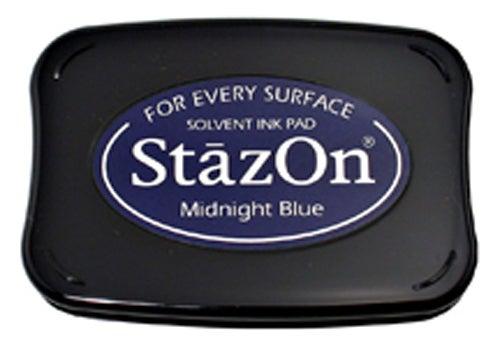 98262 - StazOn - Midnight Blue - Stempelkissen -