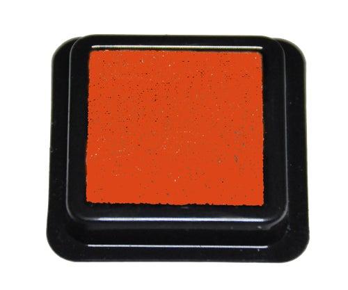 42313 - Tinten-Stempelkissen - Orange - 41x41 mm