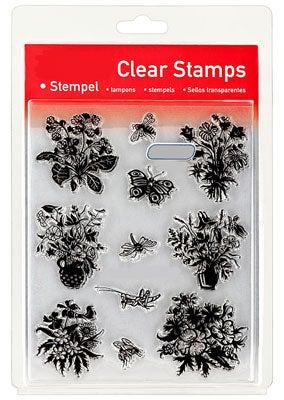 46855 - Clear Stamp Set - Blumensträuße
