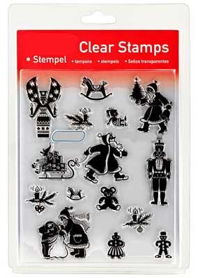 46832 - Clear Stamp Set - Weihnachten Klassisch -