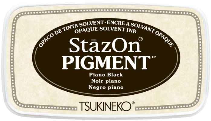 98131 - StazOn Pigment - Piano Black - Stempelkissen -