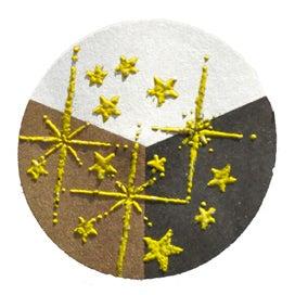 65430 - Embossing-Pulver - 10 Gramm - Gelb + Flitter Perlmutt -