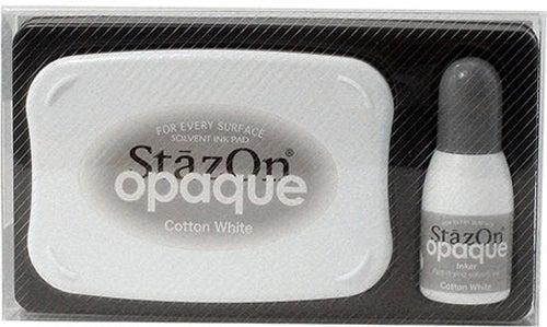 98410 - StazOn Opaque - Cotton White - Stempelkissen Set -