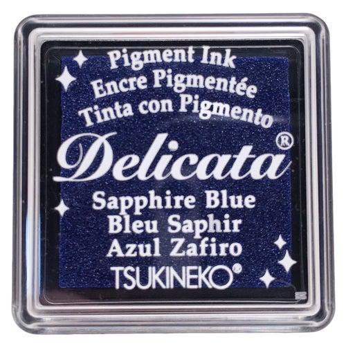 85018 - Delicata - Mini - Sapphire Blue - Stempelkissen -