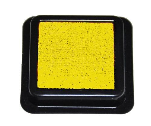 42311 - Tinten-Stempelkissen - Gelb - 41x41 mm