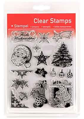 46802 - Clear Stamp Set - Weihnachten 1 -