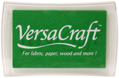 96022 - VersaCraft - Spring Green - Stoff-Stempelkissen -
