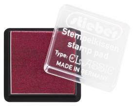 43325 - Tinten-Stempelkissen - Bordeaux - 41x41 mm