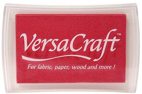 96015 - VersaCraft - Cherry Pink - Stoff-Stempelkissen -