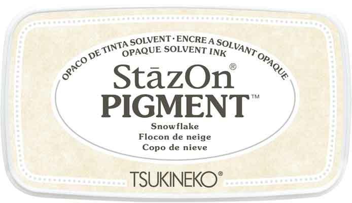 98101 - StazOn Pigment - Snowflake - Stempelkissen -