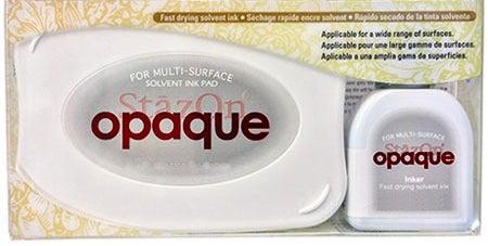 98456 - StazOn Opaque - Bordeaux - Stempelkissen Set -
