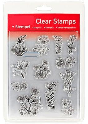 46851 - Clear Stamp Set - Blumen Verziert -