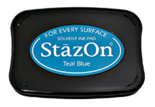98263 - StazOn - Teal Blue - Stempelkissen -