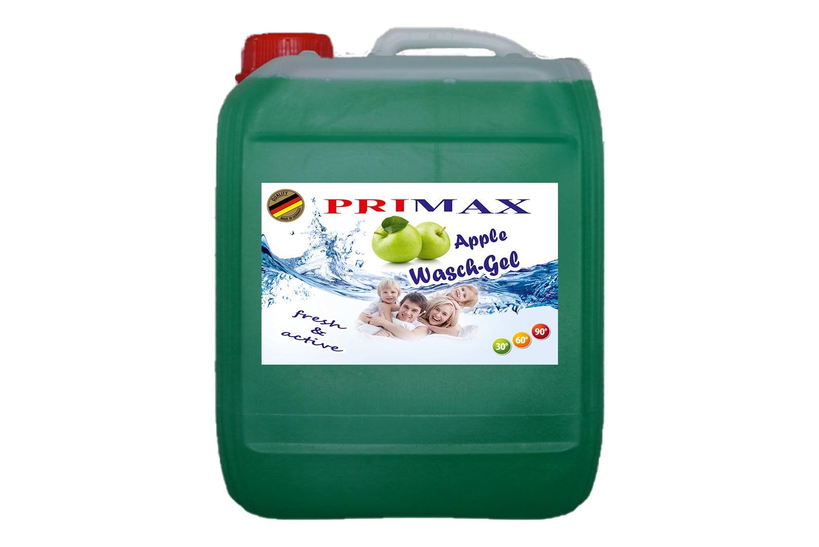 Primax Waschgel mit frischem Apfelduft