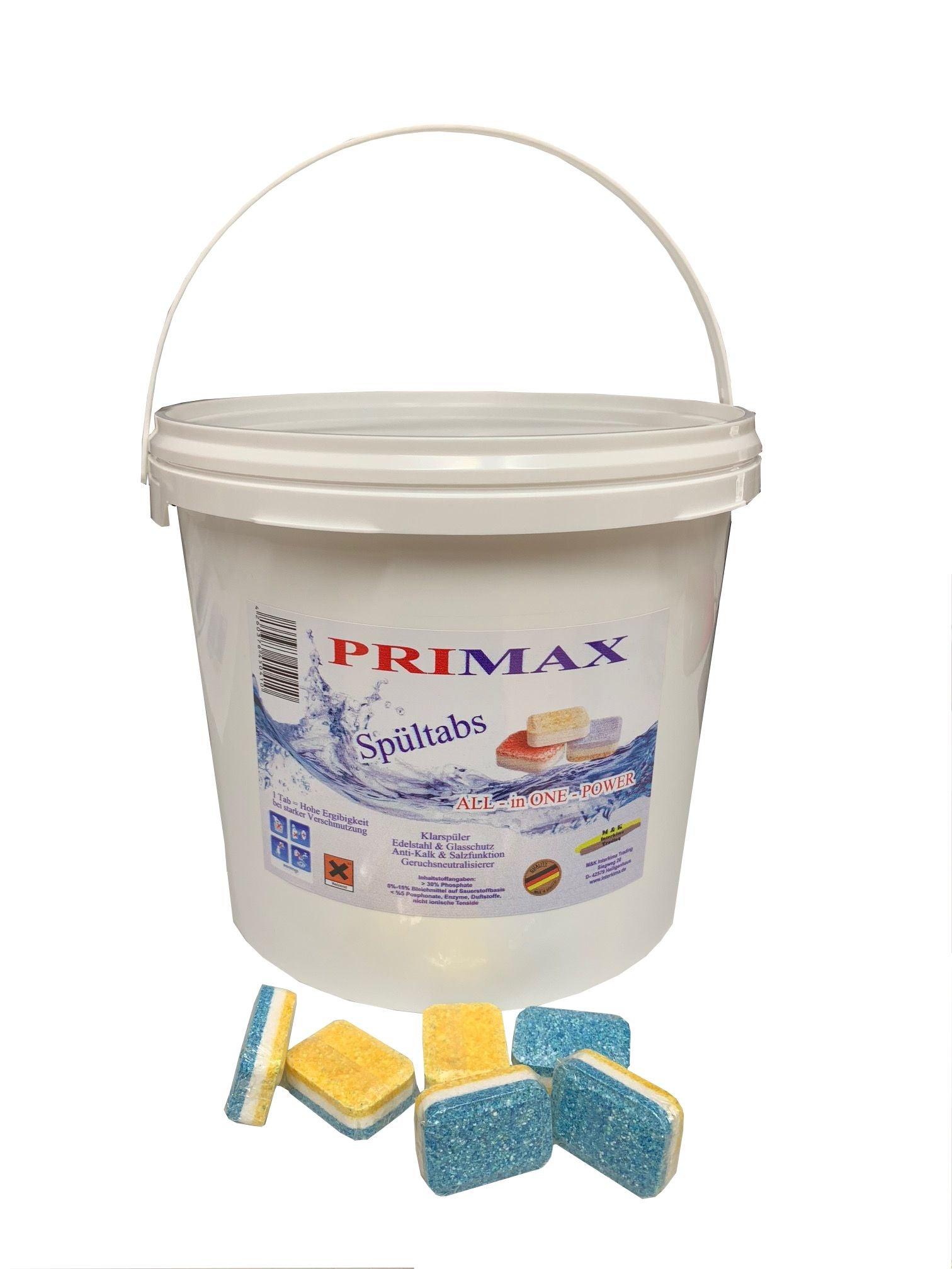 Primax Spülmaschinen-Tabs