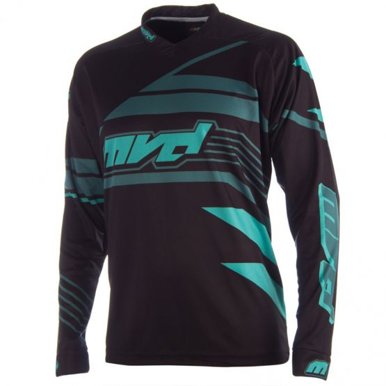 SHARP JERSEY BLACK / GREEN