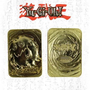 Yu-Gi-Oh! 24K Gold Plated Limited Edition Collectible - Kuriboh