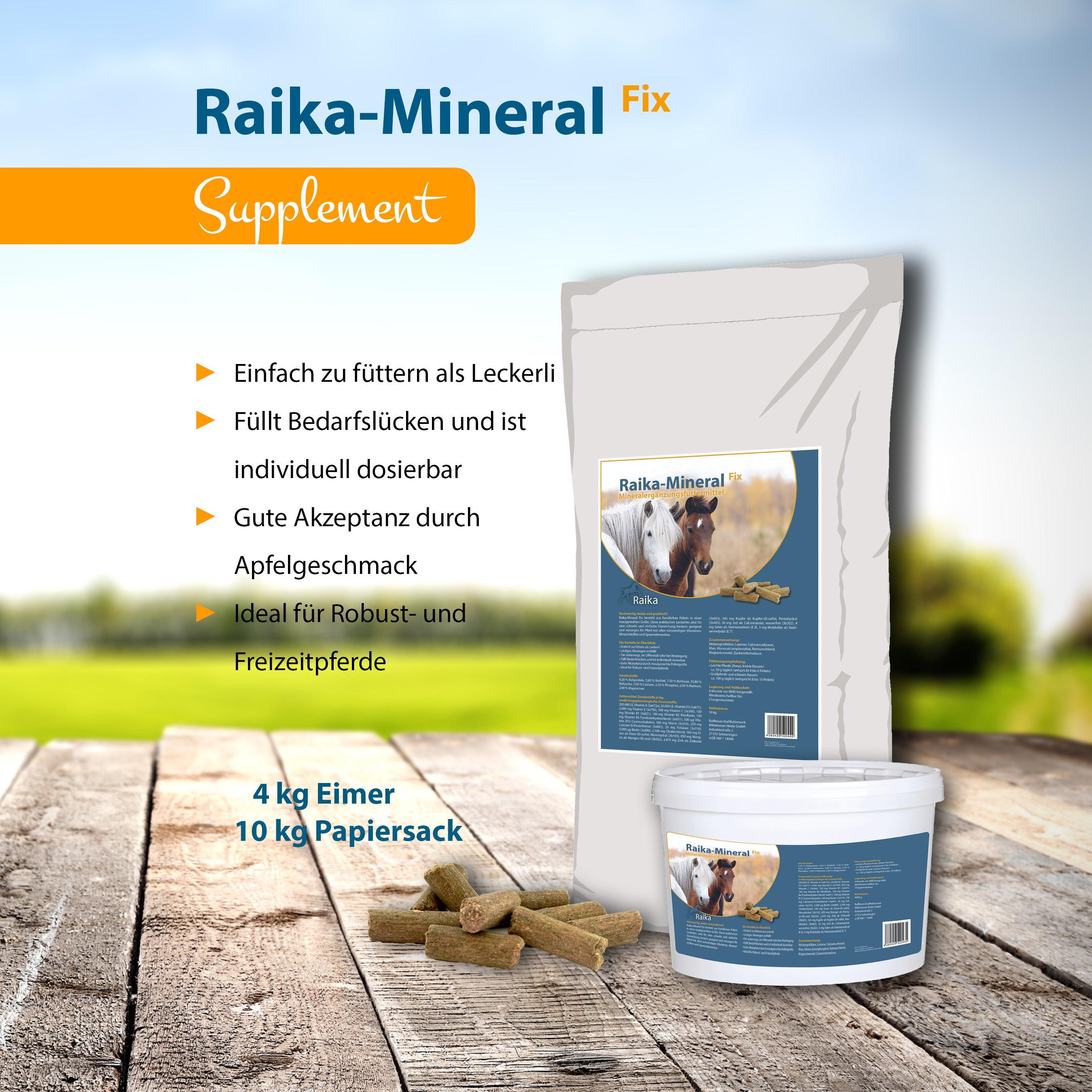 Raika-Mineral Fix Pferdefutter