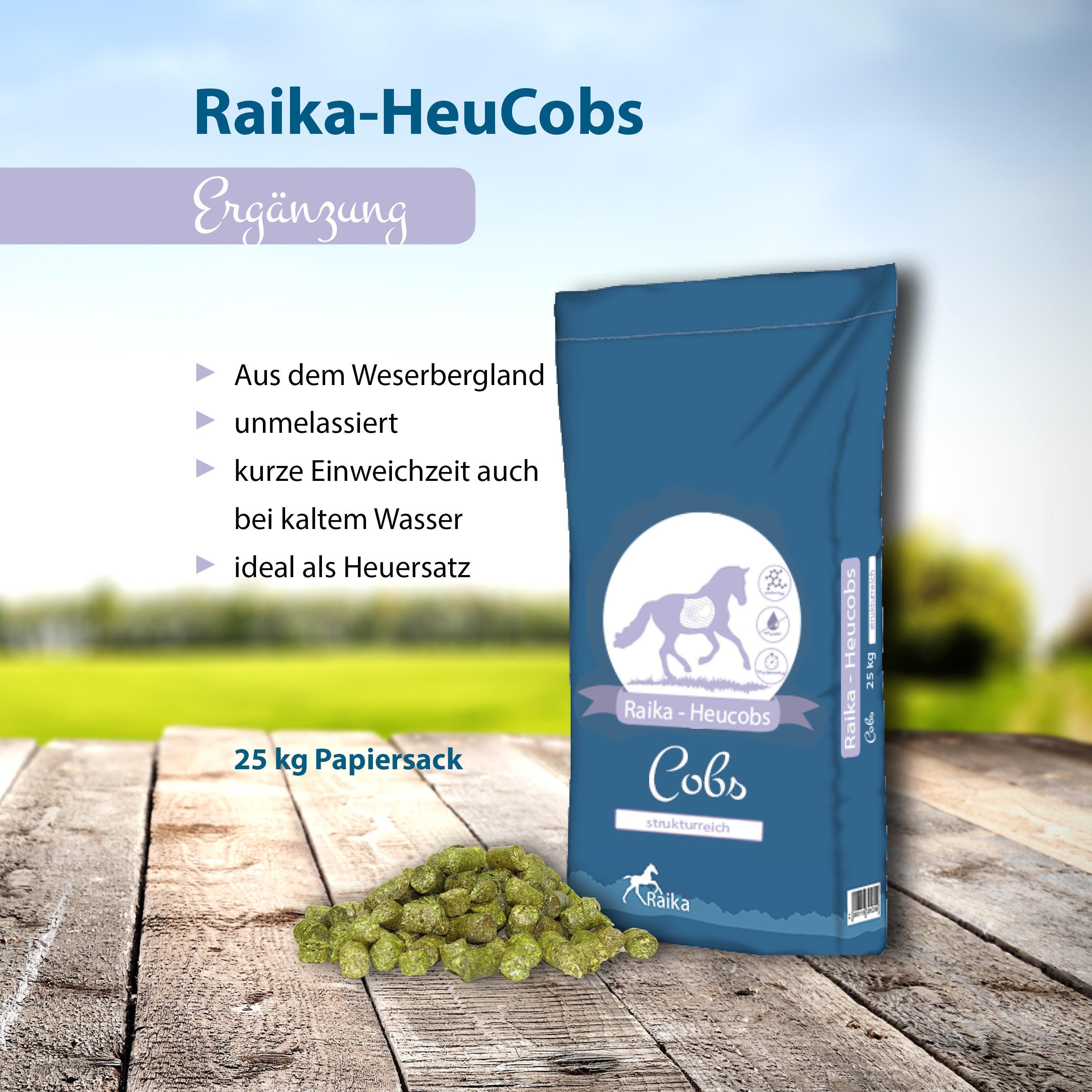 Raika-HeuCobs Pferdefutter