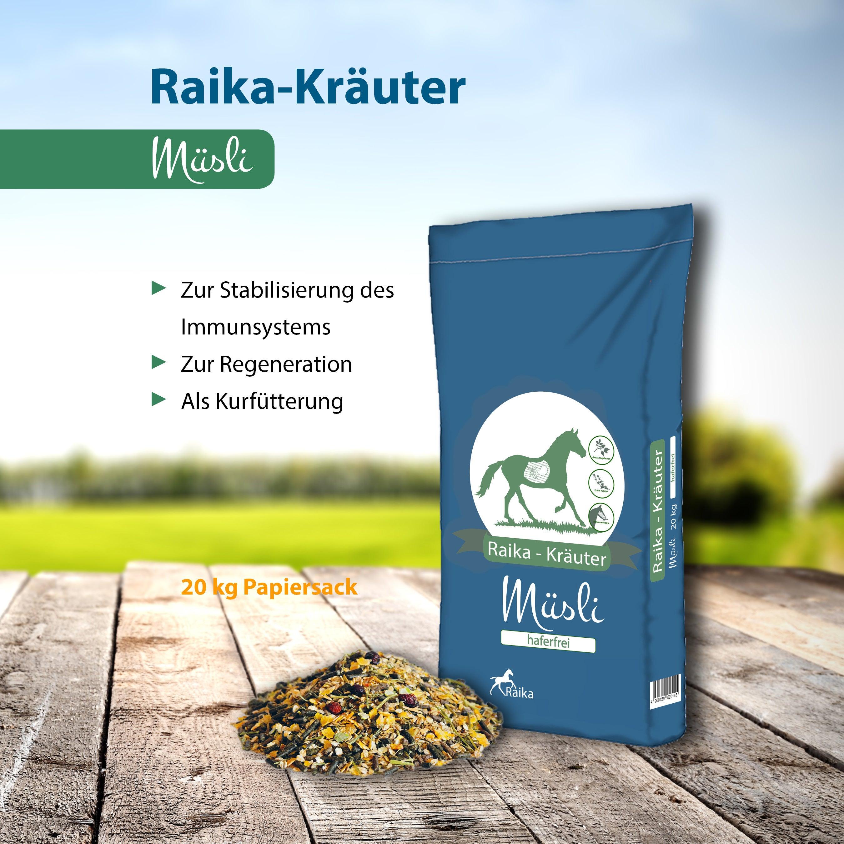 Raika-Kräuter Müsli Pferdefutter