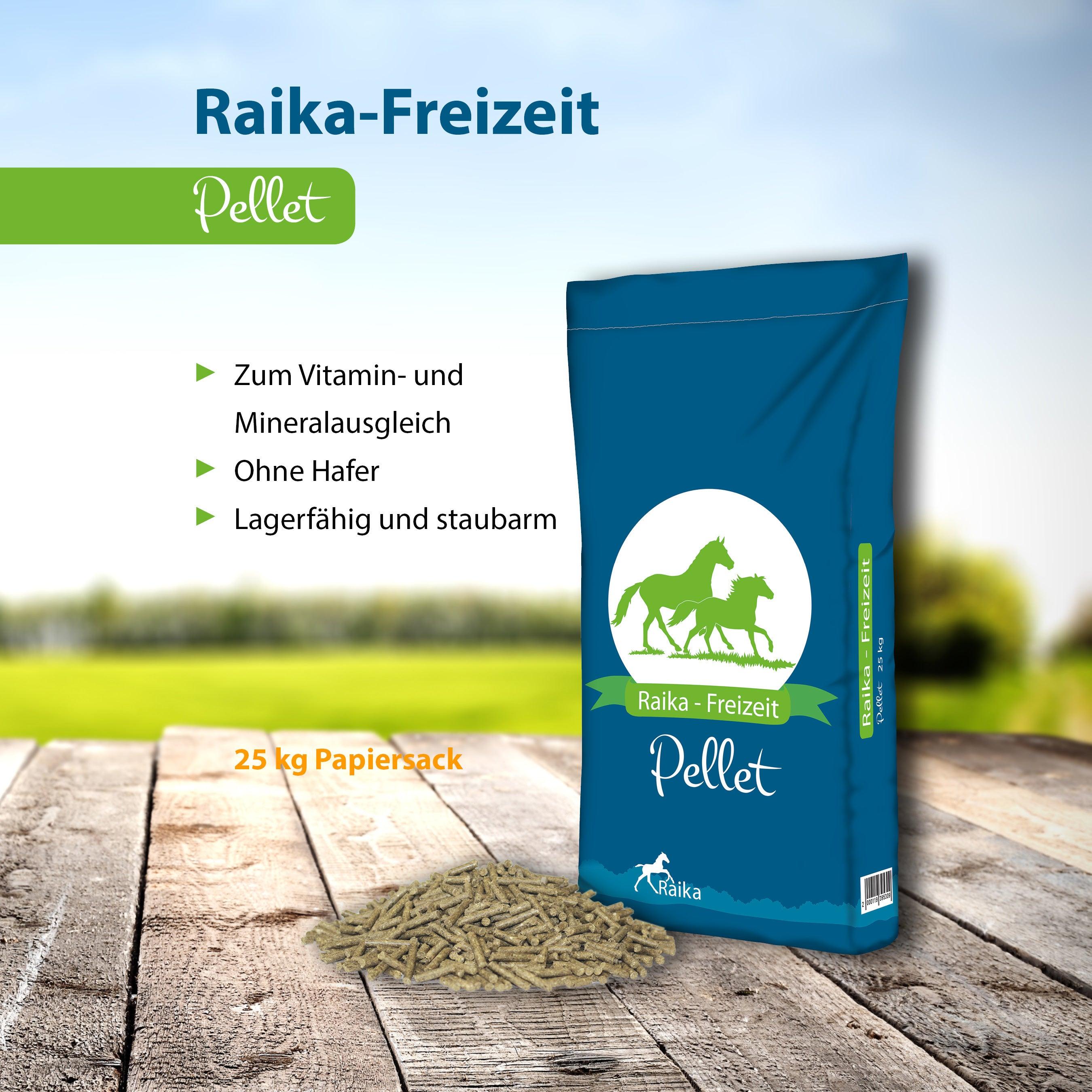 Raika-Freizeit Pellet Pferdefutter